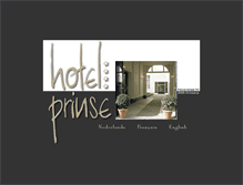 Tablet Preview of hotelprinse.be